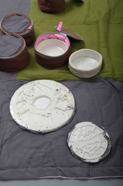 Bowls and plates used for lunches