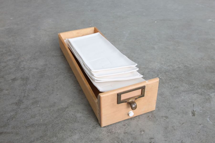 storage case for the map